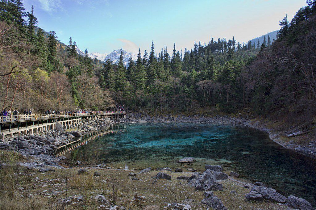 10 Most Beautiful Forests In The World Jiuzhaigou Valley In Sichuan Source Wiki Beautiful Forest Around The World In 80 Days Nature Pictures