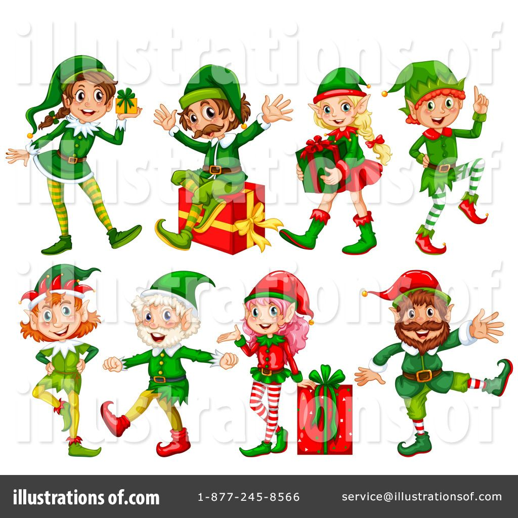 free christmas elf clip art royalty free rf christmas elf rh pinterest com Christmas Elves Clip Art Female Christmas Elf Clip Art