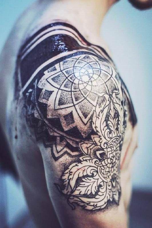 Upper Arm Maori Tattoo Motive Man - Ideas   Татуировки ...