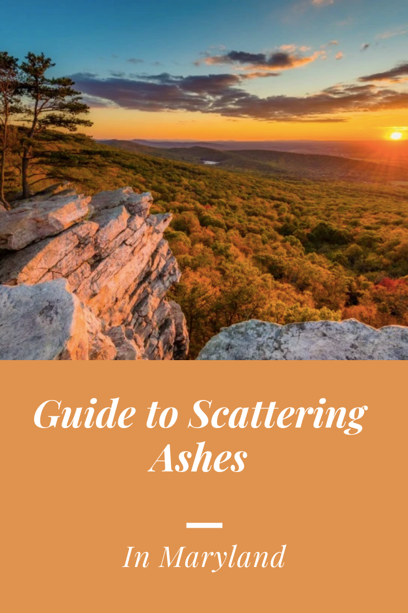 2020 State Guide to Scattering Ashes Maryland Edition in