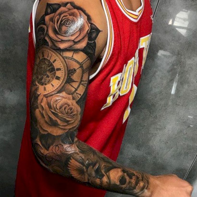 Stunning 41 Best Sleeve Tattoo Design Ideas Make Men More Cool Http Stykul Com Index Php 2019 02 15 41 Sleeve Tattoos Best Sleeve Tattoos Half Sleeve Tattoo