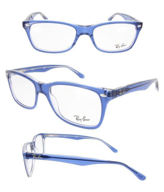 ray ban brille grau