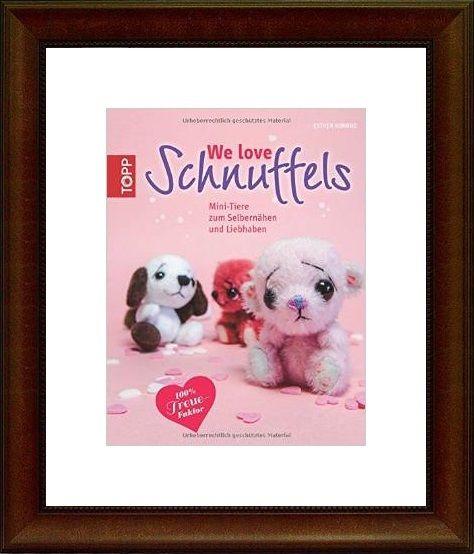 We love Schnuffels: Mini-Tiere zum Selbernähen und von Craft Shop A - Z auf DaWanda.com