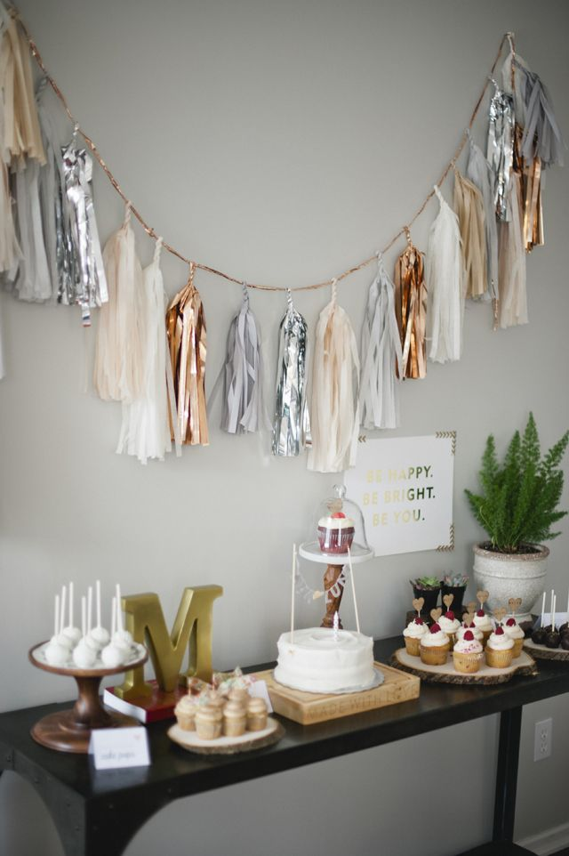 Malia's Rustic Glam 1st Birthday Party By Melissa Oholendt Photography