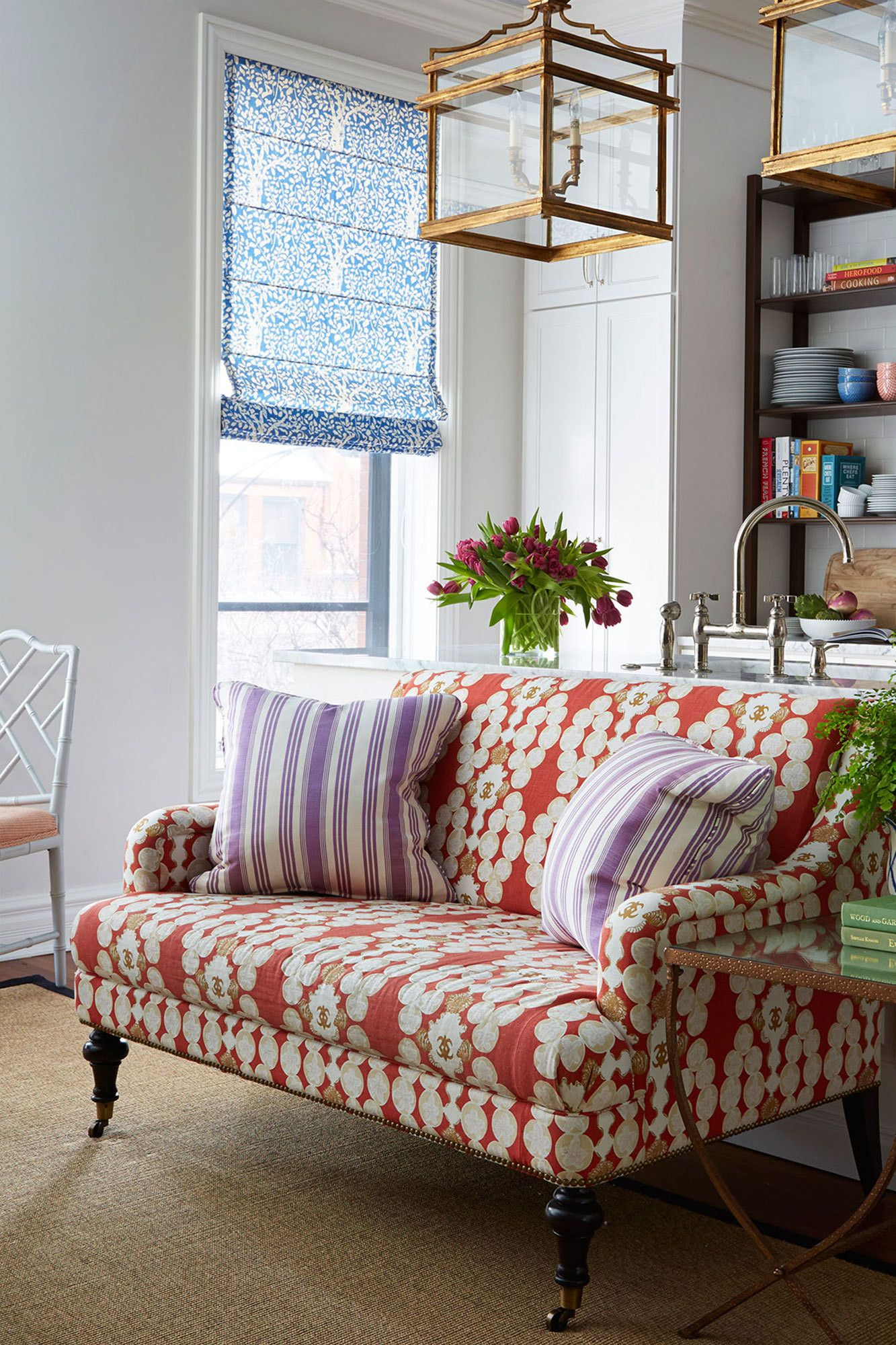 Best A Colorful Neo Trad Apartment In Chicago Sofas For 400 x 300