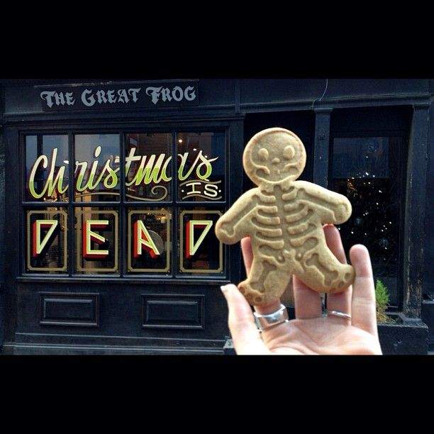 "A ""gingerdead"" man cookie !!! Photo by thegreatfrogldn"
