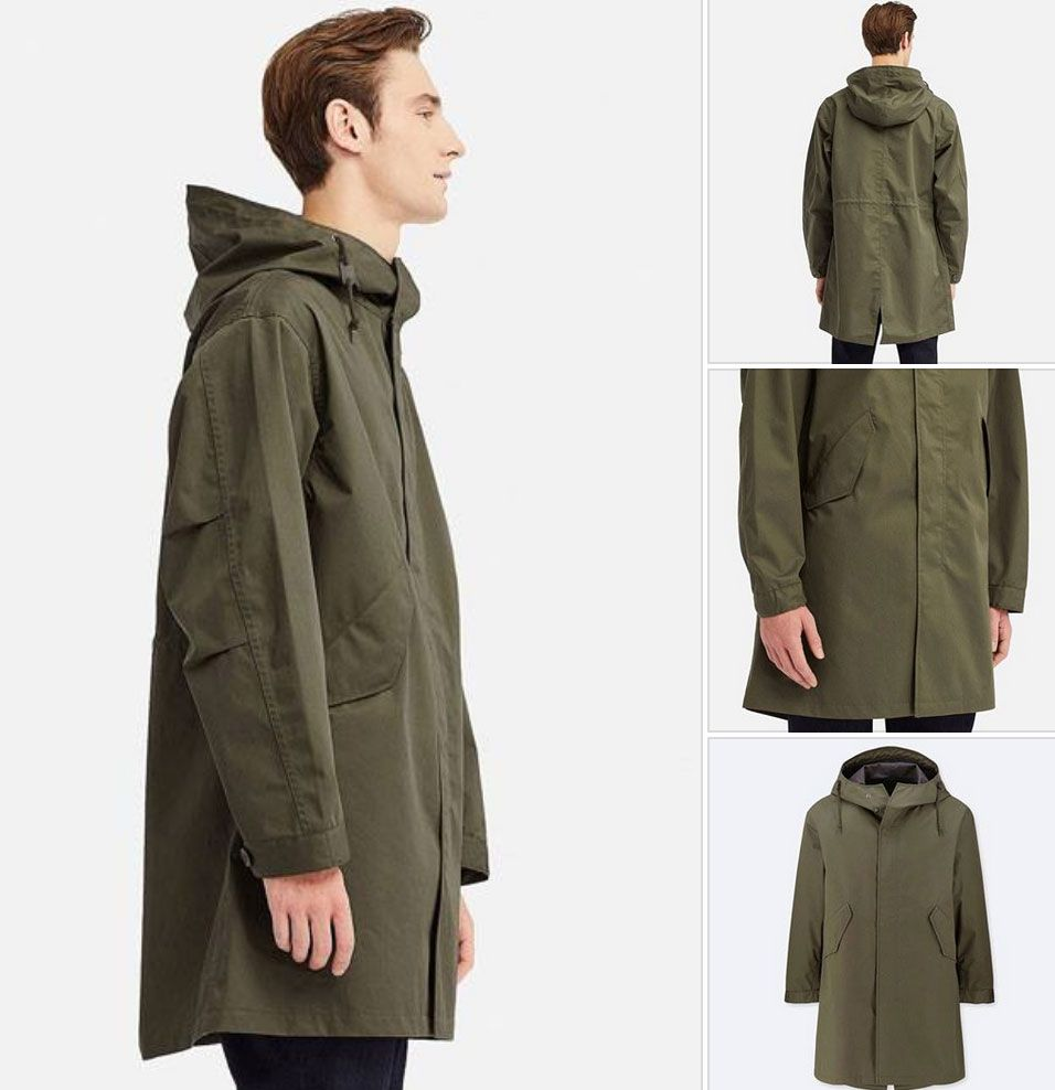Blocktech Fishtail Parka returns to Uniqlo | Parka, Fishtail