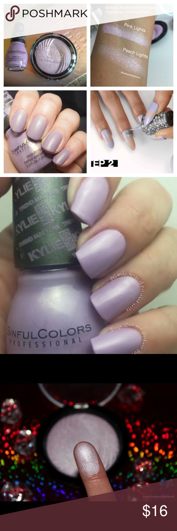 rare pink lights by makeup revolution NWT | The o\'jays, Lavender and ...