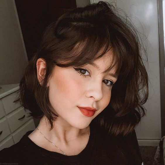 INH HAIR // SHORT BROWN HAIR INSPO