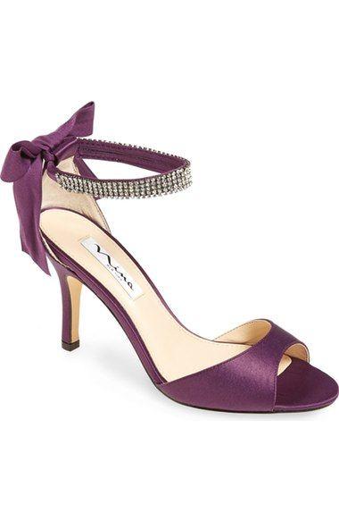 ff234fb788 Nina  Vinnie  Crystal Embellished Ankle Strap Sandal (Women) available at   Nordstrom