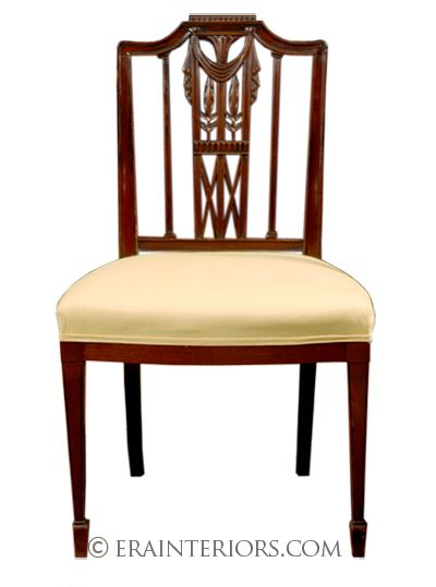 Sheraton Style Chair With Images Georgian Furniture Chair