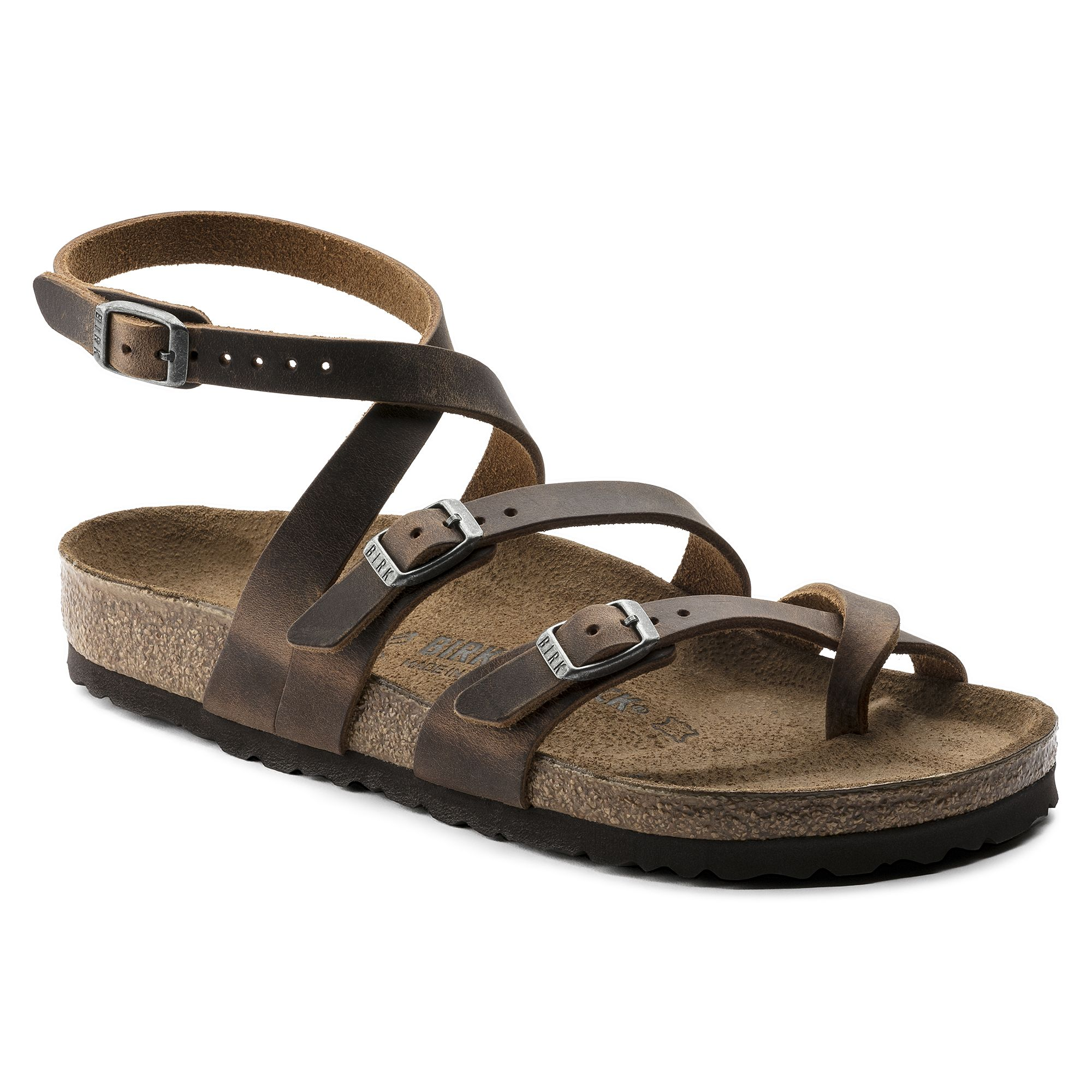 822c57fb606 BIRKENSTOCK Seres Natural Leather Camberra Old Tobacco in all sizes ✓ Buy  directly from the manufacturer online ✓ All fashion trends from Birkenstock