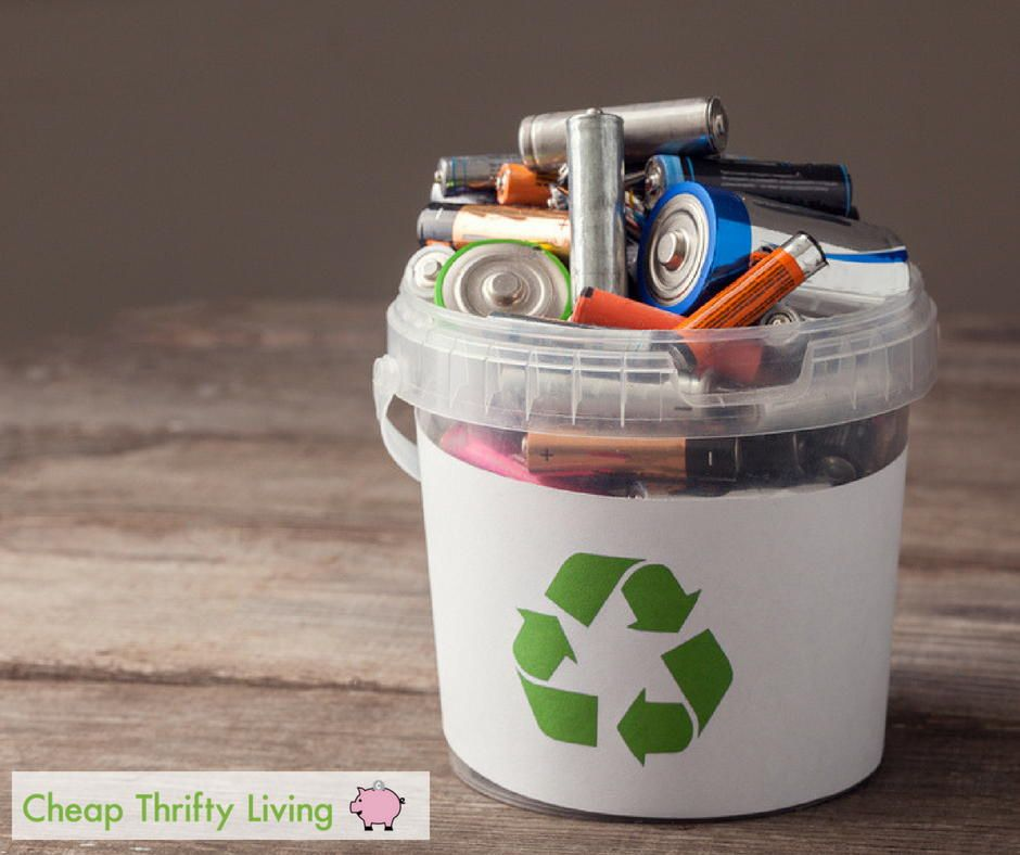 How to Recycle Batteries Battery recycling, Recycling