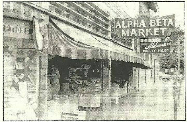 From 1926 1948 Alpha Beta Market Occupied 116 118 E Chapman Orange Ca Before 1926 Watson S Was At Orange California California History California Vacation
