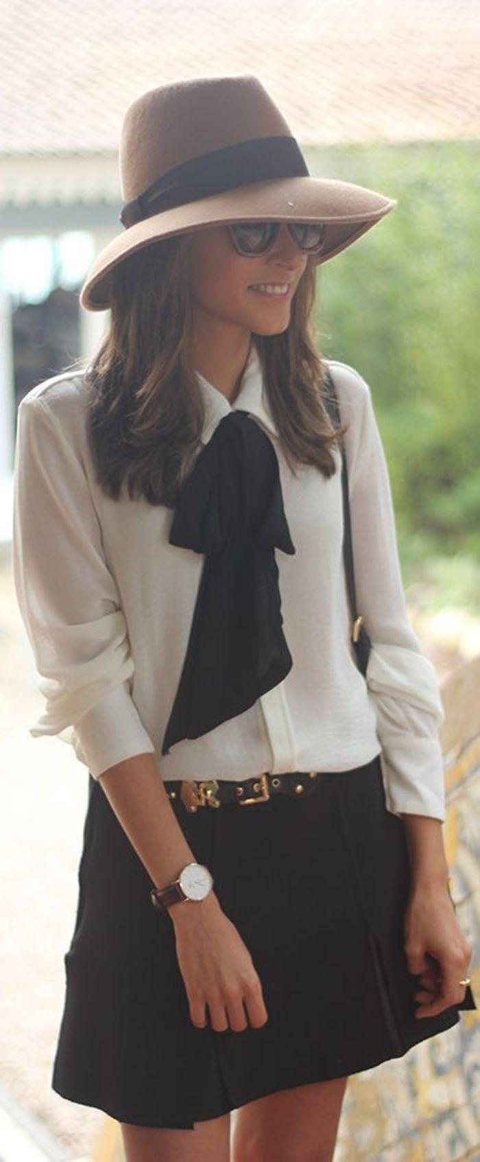 tenue chic femme les meilleures 60 id es mode au f minin pinterest tenue. Black Bedroom Furniture Sets. Home Design Ideas