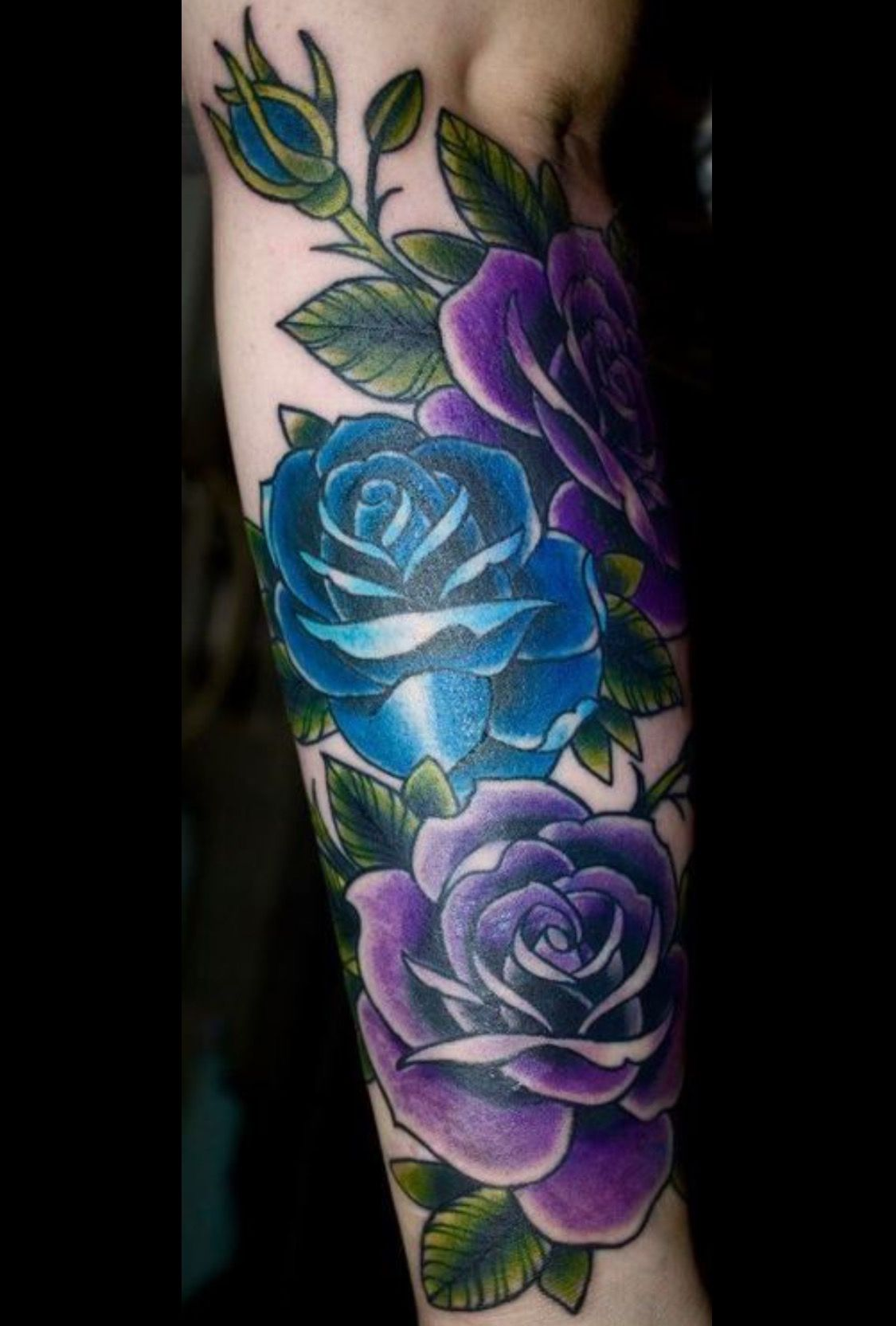 896e14345 Blue Rose Tattoo Meaning, Blue Rose Tattoos, Blue Rose Meaning, Colorful  Rose Tattoos
