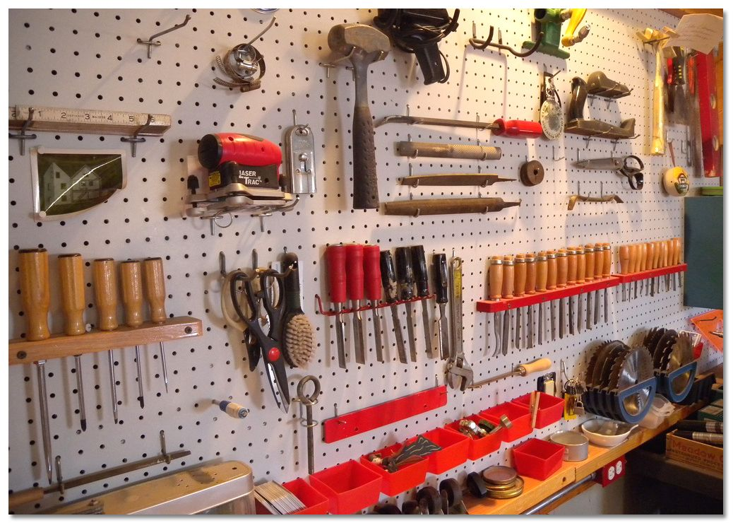 garage tool organization ideas 47 easy ways to get organized use of diy pegboard 15752