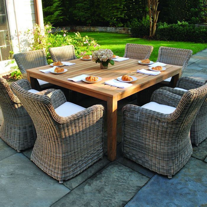 21+ Square patio dining set seats 8 Best Seller
