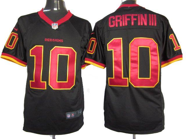 black redskins jersey