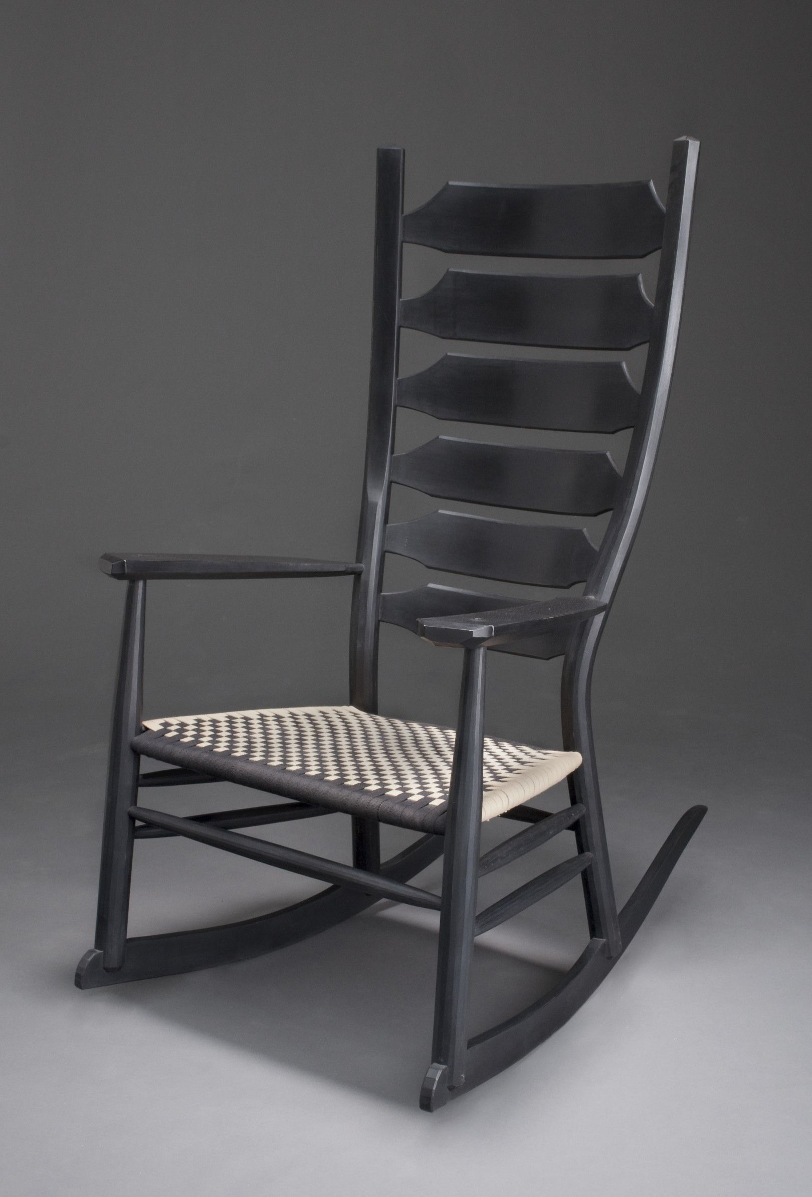 Black rocking chair - Greenwood Rocking Chair Brian Boggs Chairmakers Classic Oak Hickory Construction With Woven