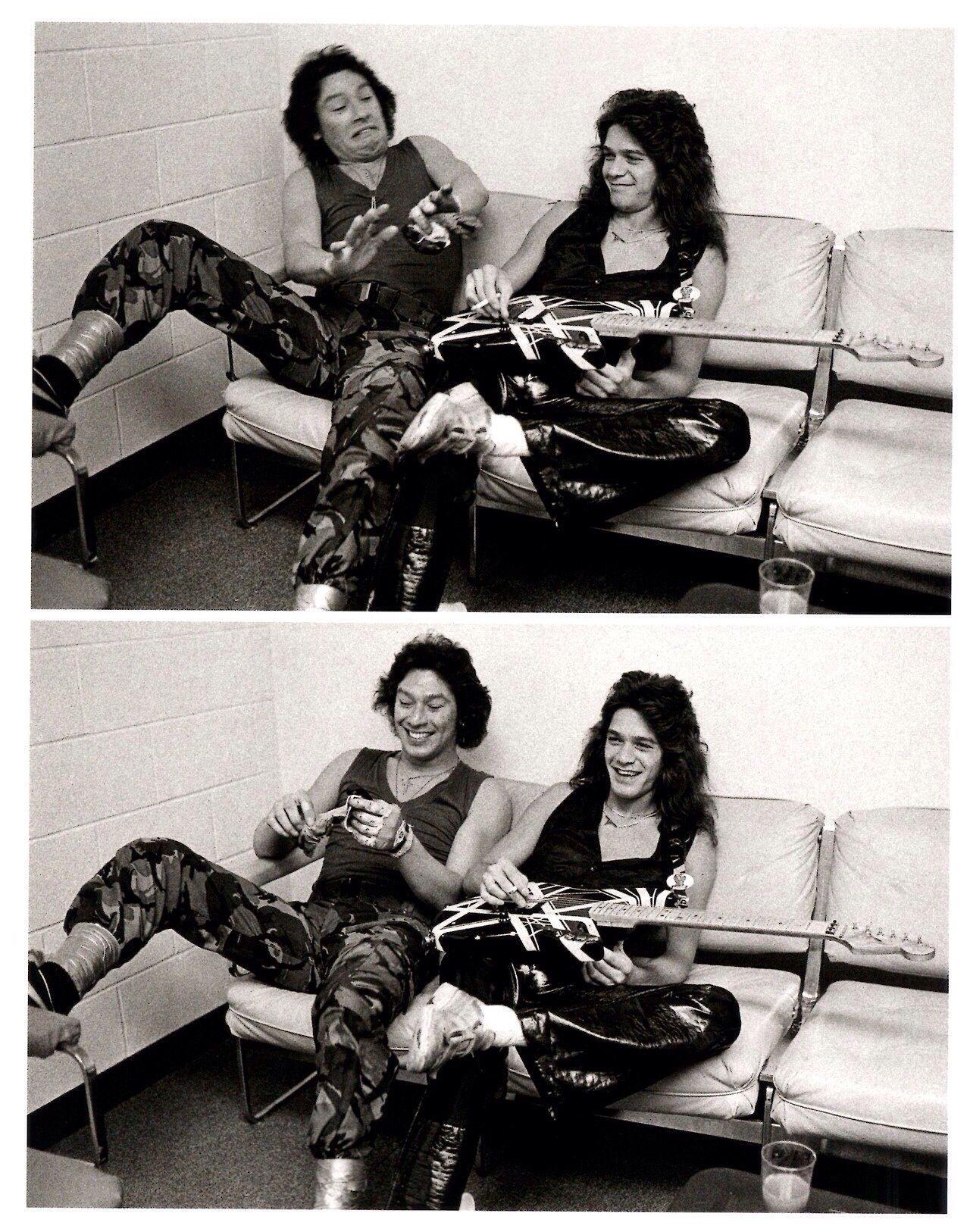 Eddie And Alex Van Halen Van Halen Eddie Van Halen Alex Van Halen