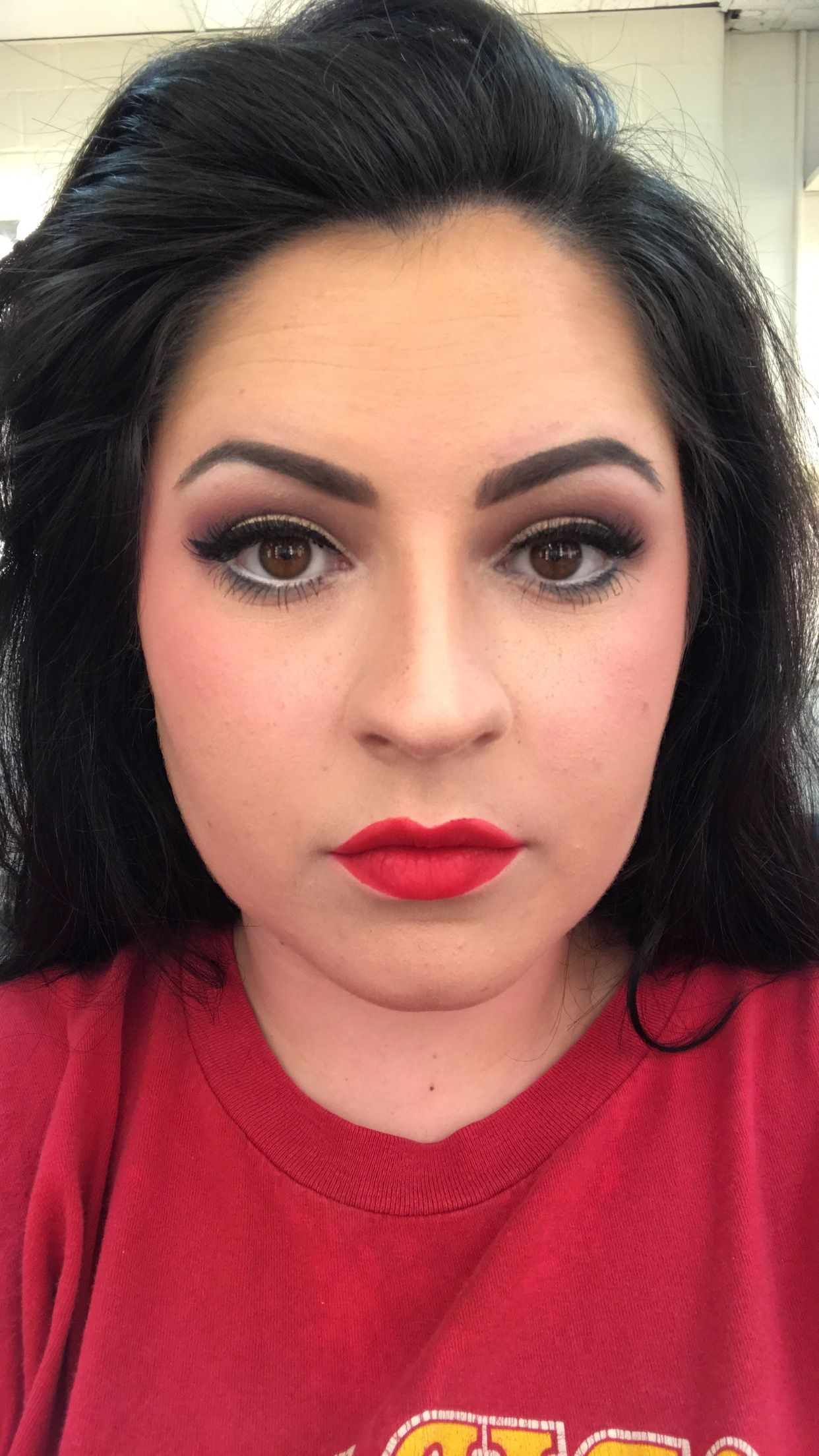 Straight Theater Makeup On Myself: Stage Makeup In 2019