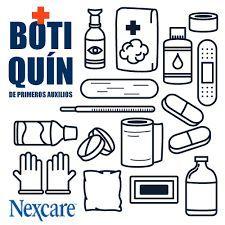 Botiquin De Primeros Auxilios Paramedico Maletin Kit Basico Familiar 115 Botiquin Primeros Auxilios Primeros Auxilios Paramedico