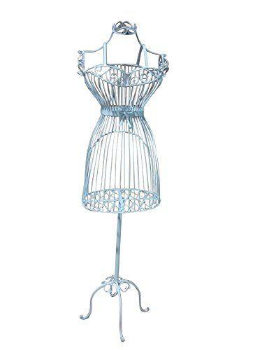 Female White Steel Wire Mannequin Dress Form 36\