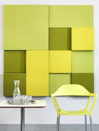 Frequency wall by Johanson Design Sound absorbent acoustic panels - design schallabsorber trennwande