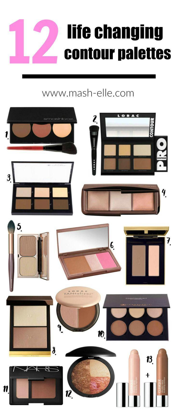 The Best Contour Kits Beauty Makeup Mash Elle Best Contouring Products Best Contour Makeup Contour Kit
