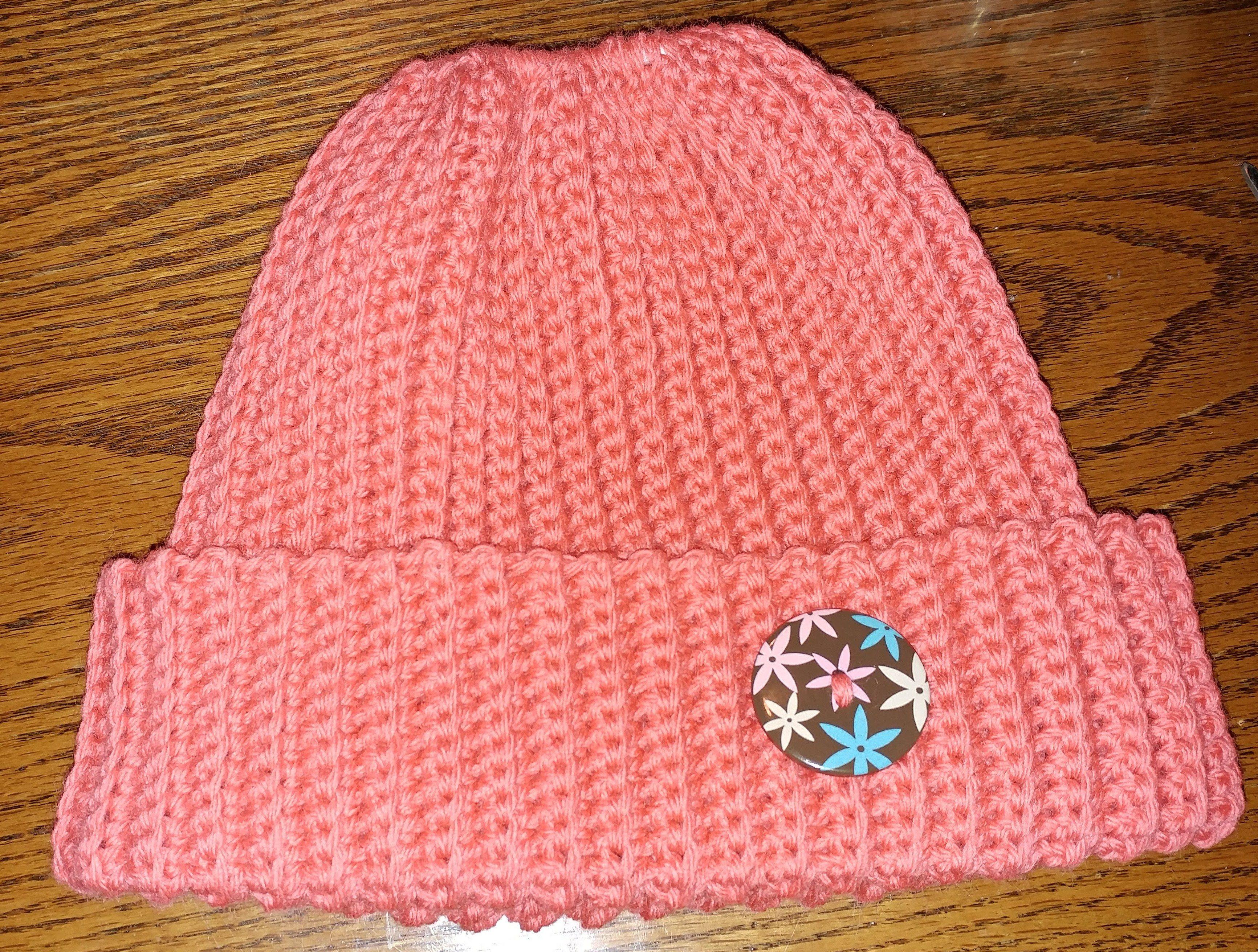 63771bd6a Crocheted holey hat | Knit/Crochet - My Knits | Knit Crochet ...