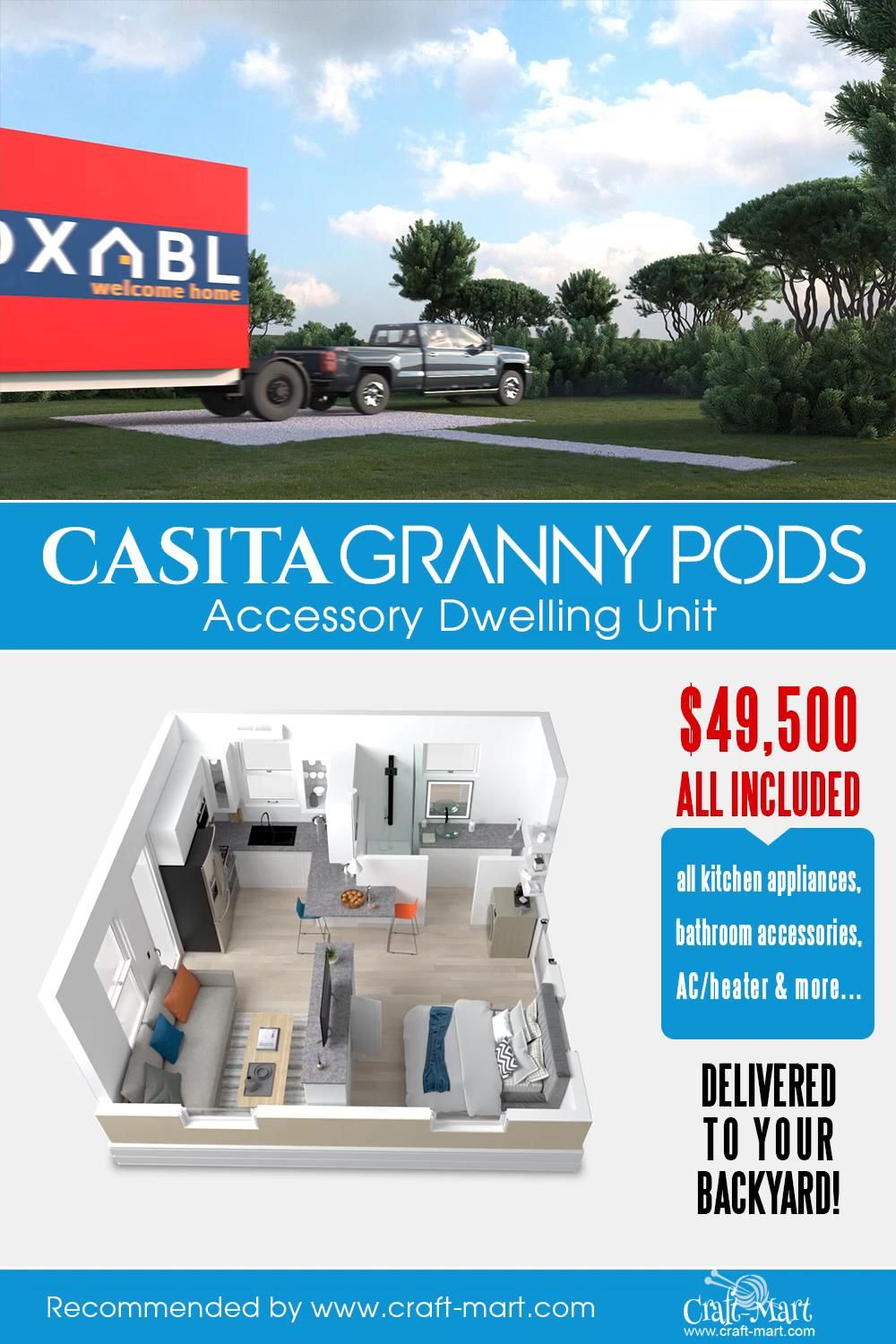 Awesome Granny Pods with everything included