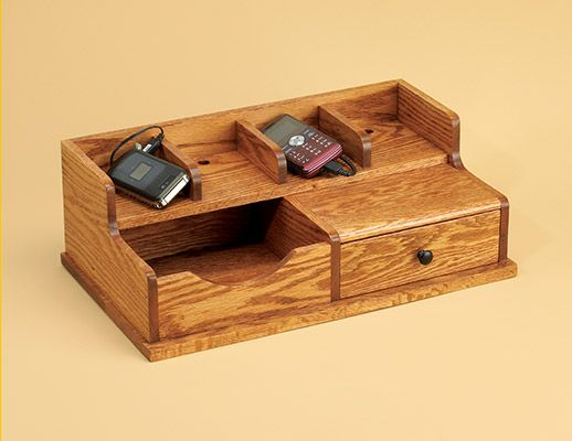 Build A Charging Station Gonna Have To Try This Woodworking Projects Woodworking Magazine Wood Projects Plans