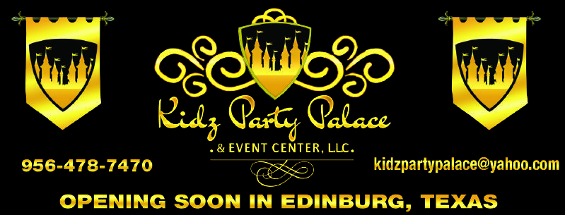 Kids Party Palace Opening Soon In Edinburg Texas For More Family Resources Visit Www Tots Tweens Com Kids Party Party Party Hall