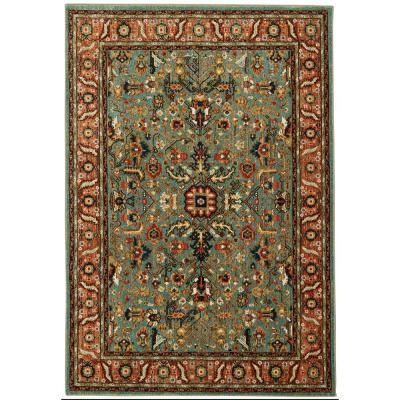 Home Decorators Collection Mariah Aquamarine 10 Ft X 12 Ft 11 In Area Rug 653118 In 2020 Area Rugs Home Decorators Collection Rugs