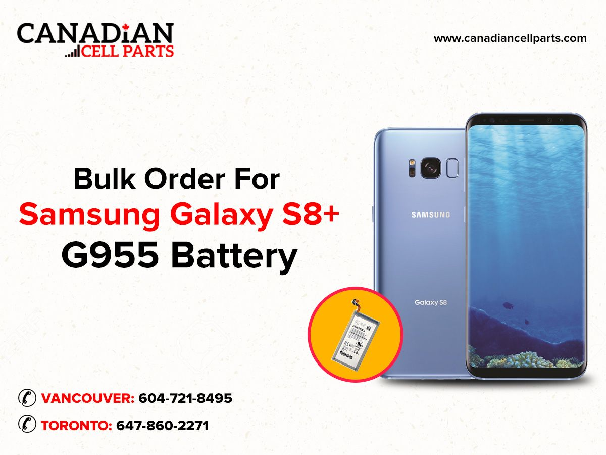 Wholesale Samsung Galaxy S8 Plus Replacement Parts Canada