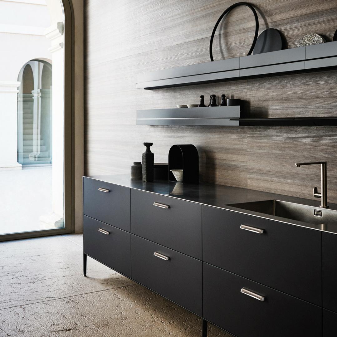 Scandinavian Kitchendesign Ideas: Cesar Black UNIT Kitchen