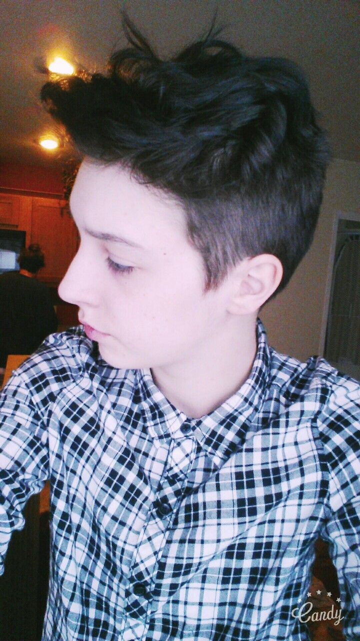 Ftm Hair Tumblr Hair Pinterest Haircuts Hair Cuts And Short