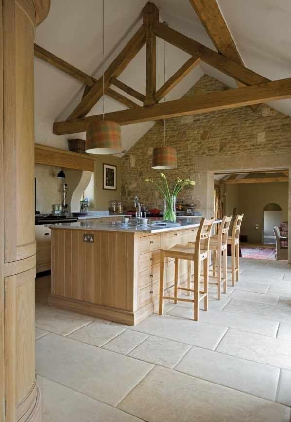 Neptune Oak Kitchen Neptune By Sims Hilditch Cocinas Pinterest - Techos-rusticos-interiores