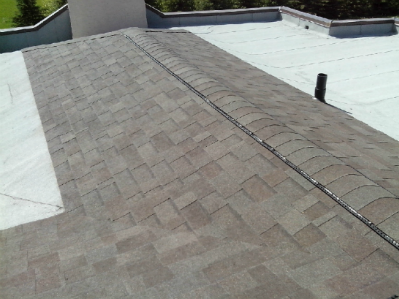 How do you install low slope roofing shingles?