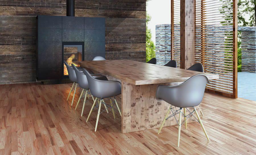 Wandverkleidung mit altholz wandpaneele innovative - Wandpaneele altholz ...