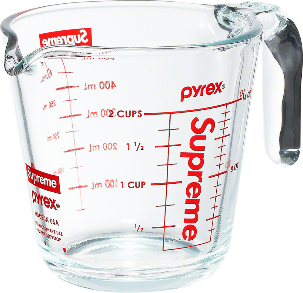 Supreme Supreme Pyrex 2 Cup Measuring Cup Measuring Cups Pyrex Supreme