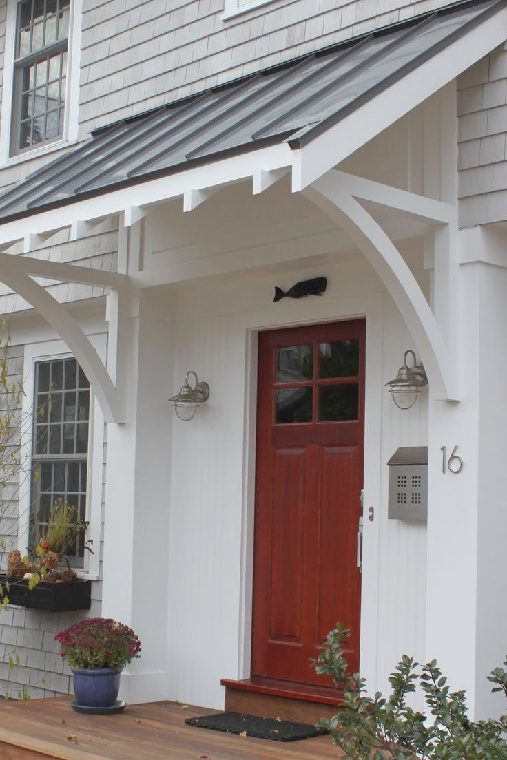 Awesome Awning Over Front Door 25 Best Front Door Awning Ideas On