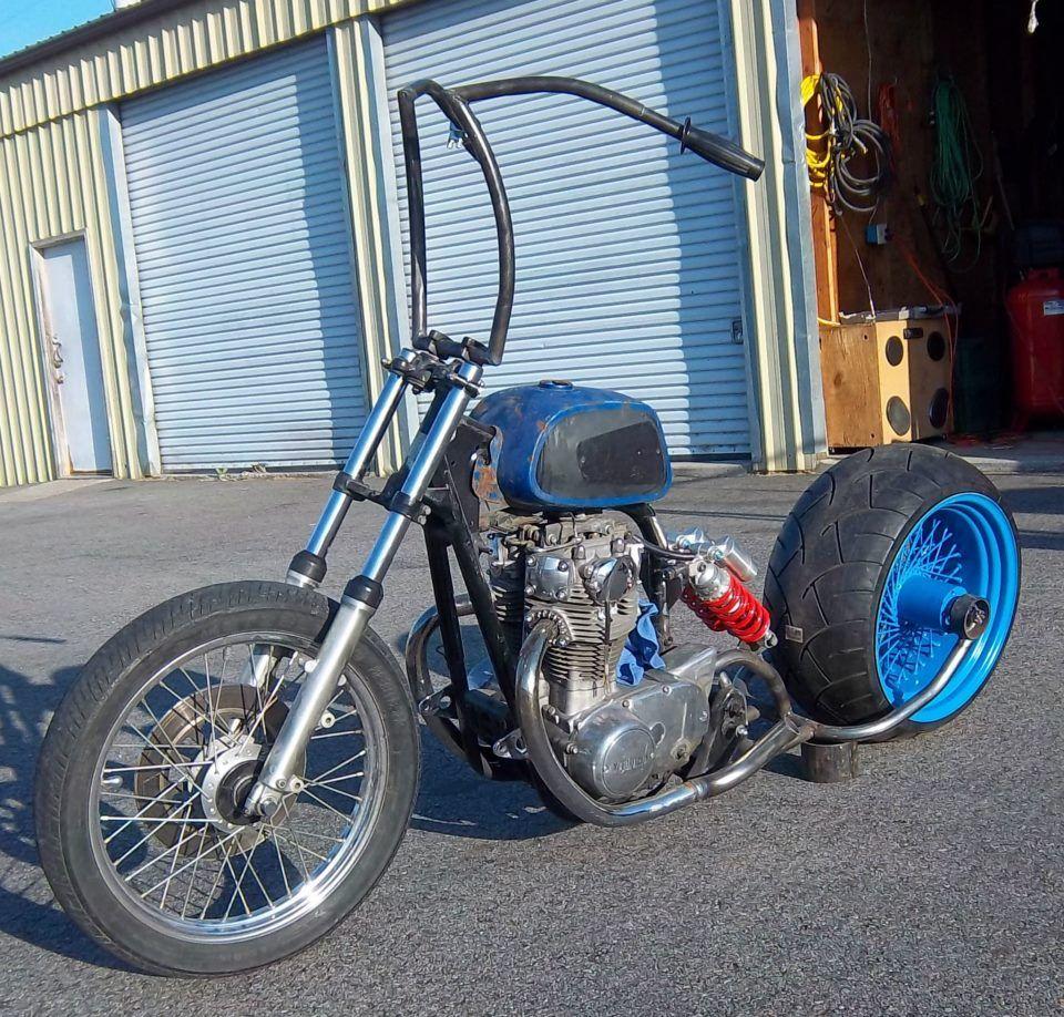 Xs650 Bobber Custom Suspension With 280 Rear Tire And Aermacchi Honda Cb Cj250 Electrical Wiring Diagram Harley Davidson Rapido Gas Tank Ape Hangers I Call The Predators