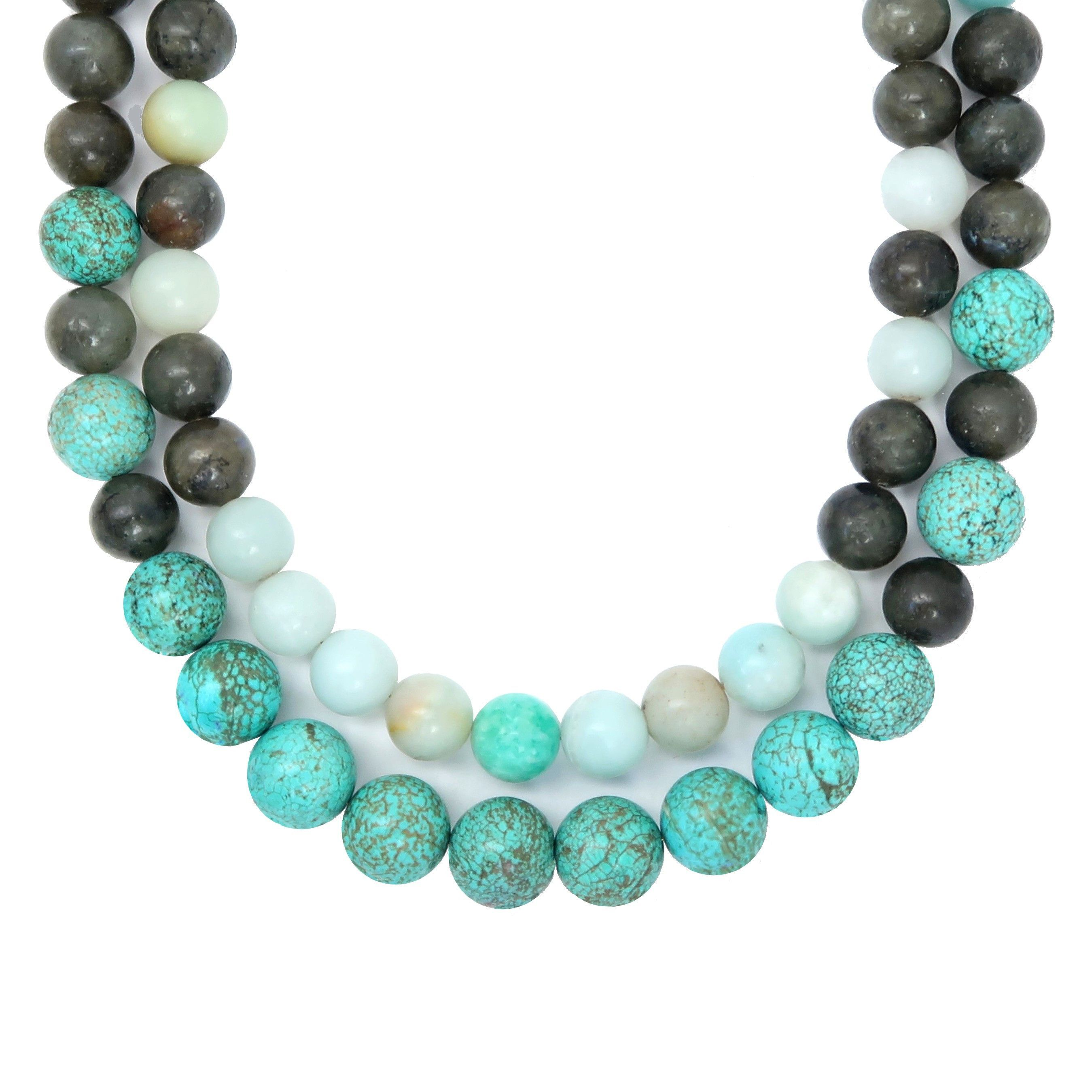 necklace amazonite