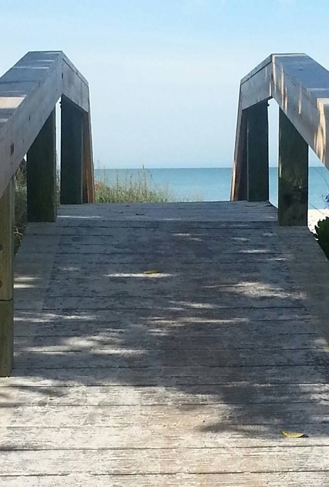 Bridge that leads to Lowdermilk Beach