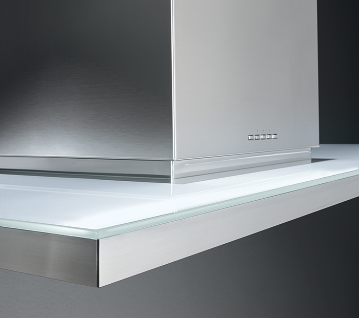 Zenith NRS: Stainless Steel And Glass For A Sharp, Modern Look. A Silent ·  HottesCooker HoodsSilenceThe ...