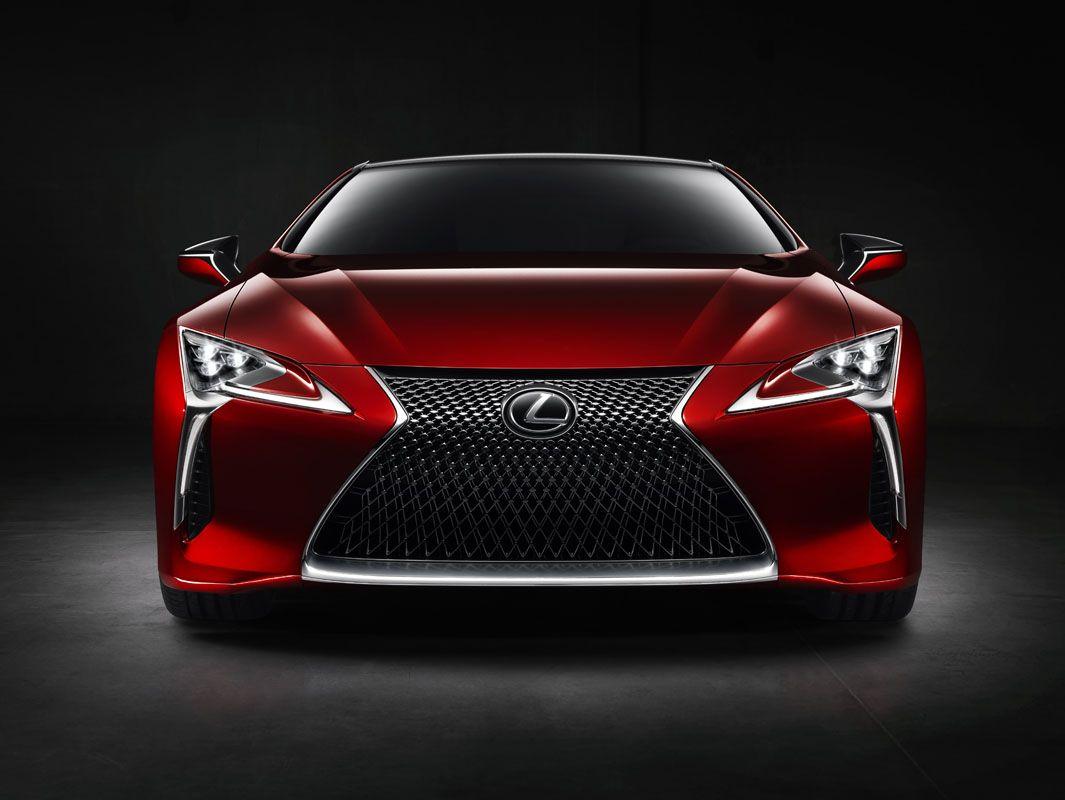 LC 500 unveiled at 2016 Detroit motor show Lexus lc