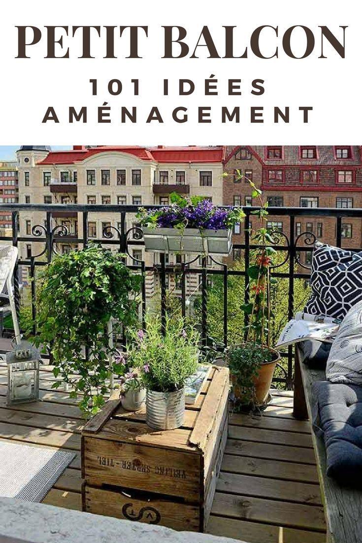 comment profiter grandement d'un petit balcon (+101 idées déco