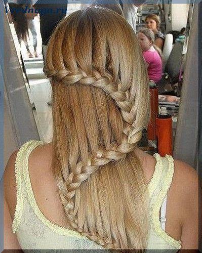 Колоски и косы - прически для девочек   Прически, Стильные ...